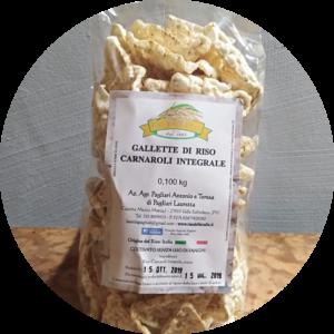 Gallette di riso Carnaroli integrale