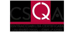 Rintracciabilità certificata